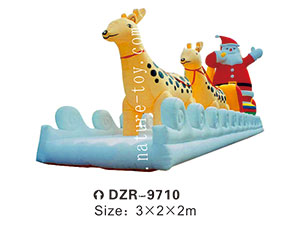 DZR-9710 Inflatable Tent Obstacle Cartoon